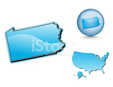Pennsylvania,Map,Cartography,Pennsylvania Map,state,USA,Blue,Non-Urban Scene,North America,Usa Map,Rural Scene,Modern,Land,vector map,Shiny,Sphere,Illustrations And Vector Art,Travel,Ilustration,Turquoise