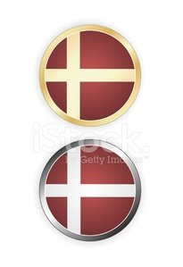 Danish Flag,All European Flags,Flag,Badge,Symbol,National Flag,Design Element,Illustrations And Vector Art,Isolated Objects,Ideas,Interface Icons,Computer Icon,White Background,Vector Icons,Retro Revival,Label,Concepts,Old-fashioned