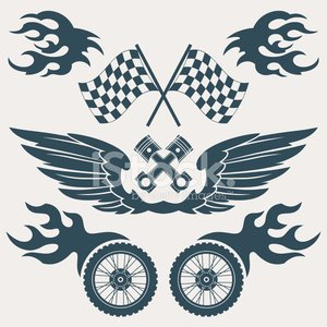 Sport,Artificial Wing,Motorcycle,Tattoo,Engine,Retro Revival,Biker,Flame,Old-fashioned,Wheel,Angel,Flag,Symbol,Rock and Roll,Motorcycle Racing,Bicycle,Speed,Single Object,Vector,Spark,Electric Motor,Scrapbook,Computer Icon,Painted Image,Ornate,Bizarre,Twin,Street,Freedom,Ilustration,Collection,Concepts,Energy,Power Supply,Icon Set,Insignia,Design Element,Isolated,Decoration,Black Color,Set,Helicopter,Grunge,Design