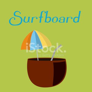 Ilustration,Vector,Season,Vacations,Design Element,Style,Coconut,Sport,Drink,Summer,Alcohol,Cocktail,Parasol,Single Object