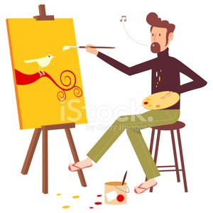 Painter,Artist,Easel,Men,Bird,Tree,Paint,Vector,Symbol,Human Hair,Motivation,Environment,Animal,Life,Lifestyles,Sitting,Branch,Animal Foot,New Life,Ilustration,Pollution,Beard,Nature,Whistling,Uncultivated,Cheerful,Animals In The Wild,Jeans,Vector Cartoons,People,Character Traits,Solitude,Illustrations And Vector Art,Feather,Concepts And Ideas,Imagination,Stool,Inspiration,Creativity,Happiness,Wing,Loneliness