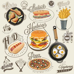 Sandwich,Typescript,Chicken - Bird,Banner,Diner,Old-fashioned,Menu,Hamburger,Lemon,Label,Food,Tomato,Calligraphy,Duvet,Drumstick,Onion,Crockery,Mustard,Business,Freshness,Bun,Bread,Salami,Thigh,Cheeseburger,Lunch,Beef,Safety,Grilled,Backgrounds,Collection,Roasted,Cheese,Pizza,Symbol,Raw Potato,Vector,Restaurant,Set,Refreshment,Italian Music,Fried,Sesame,Design,Pizzeria,Ketchup,Commercial Sign,Ilustration,Salad,Gourmet