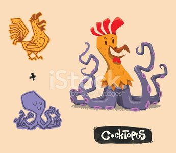 Octopus,Octopus,Cartoon,Cockerel,Humor,Animated Cartoon,Animal,Bizarre,Flexibility,Ideas,Bird,pun,Ilustration,Hybrid Vehicle,Cheerful,Vector,Isolated,Smiley Face,Genetic Mutation,Tentacle,Scientific Experiment,Genetic Research,Environment,Pollution,Cute,Progress,Development,Futuristic,Imagination,Evolution,Curiosity,Concepts,Genetic Modification,Whale,Happiness,Tusk,Remote,Science,Monster,Smiling,Fun