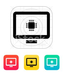 computer cpu vector illustration vector images 365psd com