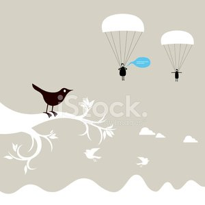 Bird,Parachute,Tree,Parachuting,Talking,Dreamlike,People,Branch,Life,Animal,Cloud - Sky,Extreme Sports,Vector,Ilustration,New Life,Boredom,Environment,Fantasy,Animal Foot,Pollution,Animals In The Wild,Sky,Uncultivated,Feather,Nature,High Up,Animal Leg,Remote,Cheerful,Extreme Sports,Birds,Actions,Animals And Pets,Wing,Happiness,Sports And Fitness