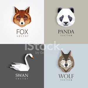 Panda,Business,Low Poly,Wolf,Animal Themes,Vector,Two-dimensional Shape,Four Animals,Triangle,Drawing - Art Product,Identity,Geometric Shape,Design Element,Creativity,Symbol,Swan,Icon Set,Print,Set,polygonal,Wing,Web Page,Style,Isolated,Dog,Bird,Mascot,Ilustration,Fox,Collection,Animals In The Wild,Avatar,Art,Fashionable,Flat,Wildlife,Bear,Characters,Origami,Mammal,Animal Head,Funky,Abstract,Modern,Design