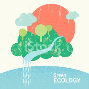 Floating Island,Water Conservation,Sun,Springtime,Waterfall,River,Sustainable Resources,Cloud - Sky,Reforestation,template,Vector,Ilustration,Cleanup,Green Color,Sea,Biology,Wealth,Summer,Nature,Environmental Conservation,Environment,Island,Flat