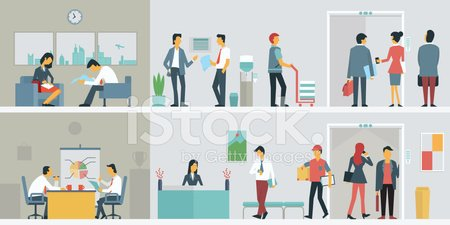 Flat,Business Person,People,Sitting,Customer Service Representative,Office Building,Office Interior,Women,Desk,White Collar Worker,Messenger,Table,Meeting,Elevator,Flooring,Storage Tank,Window,Furniture,Characters,Filing Tray,Receptionist,Relaxation,Activity,Businesswoman,Occupation,Large Group Of People,Single Object,Construction Industry,Business,Flat Design,Talking,Ilustration,Men,Communication,Job - Religious Figure,Sofa,Discussion,Suit Man,Businessman,Human Resources,Architecture,Indoors