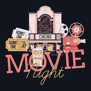 Symbol,Sign,Vector,motion picture,Enjoyment,Premiere,Creativity,Nightlife,Film Industry,Architecture,Ilustration,Night,Event,Projection Equipment,Facade,Movie Theater,Movie,Popcorn,Box Office,Ticket,Paper Bag,popping corn,Admit One,Entertainment