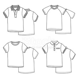 templates,Sport,Polo,Image,Sleeve,Side View,Merchandise,Group of Objects,Retail,Garment,Ilustration,Vector,Clothing,Outline,Fashion,Shirt,T-Shirt,Shape