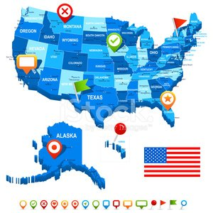 Chicago,Usa Map,City Of Los Angeles,The Americas,New York State,Washington DC,Ilustration,Business,Politics,Flag,Miami - Florida,Symbol,Alaska,Three-dimensional Shape,Map Of Usa,Intricacy,Computer Icon,Texas,Detroit,Sign,Florida,Aiming,Vector,City,American Flag,Washington State,North America,Los Angeles County,Government,Capital Cities,Blue,Geographical Locations,Land,Navigational Equipment,USA,Interface Icons,Hawaii Islands,Map,regions,Topographic Map,Isolated,Kansas,California,Label,Michigan,Three Dimensional,Colors