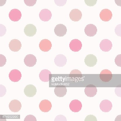 Pattern,Spotted,Backgrounds,Repetition,Illustration,Polka Dot,No People,Vector,Pastel Colored,2015,Seamless Pattern