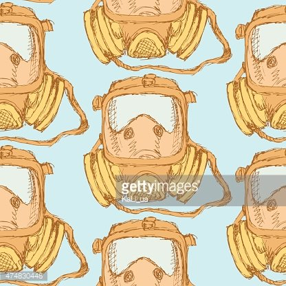 People,Equipment,Nature,War,Firefighter,Army,Multi Colored,Pattern,Fire - Natural Phenomenon,Wind,Incomplete,Backgrounds,Biology,Stencil,Illustration,Vector,Backdrop,Poisonous,2015,Seamless Pattern