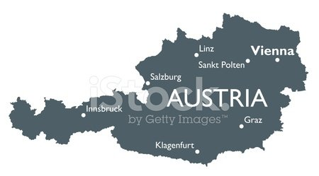 Austria Map stock vectors 365PSDcom