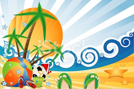 Summer,Fun,Beach,Backgrounds,Drink,Sea,Computer Graphic,Ball,Sun,Ilustration,Bucket,Sand,Vector,Shoe,Sandal,Palm Tree,Wave,Design,Sunlight,Juice,Sky,Cricket Stump,Holidays And Celebrations,People,Nature,Star Shape,Holiday Backgrounds,Summer