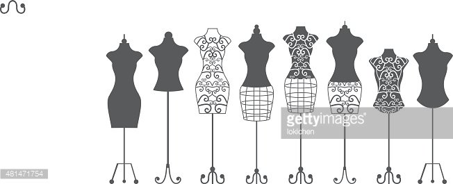 Cut,Clothing,Elegance,Luxury,Garment,Symbol,Black And White,Label,Design Professional,Factory,Sewing,Shape,Mannequin,Model - Object,Cutting,Adult,Tailor,Ornate,Illustration,Women,Vector,Fashion,Collection,Dressmaker's Model,Retro Styled,Arts Culture and Entertainment,2015,artificial model,Stitching Needle,
