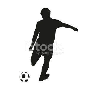 Soccer,Success,Activity,Men,Kicking,Illustration,People,Motion,2015,Sport,Adult,Playing,Square,60013,Vector,Tracing