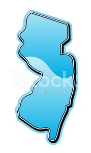 New Jersey,New Jersey Map,Map,state,USA,Computer Graphic,Blue,Shiny,Turquoise,Clip Art,Modern,Cartography,Ilustration,vector map,State Map,Illustrations And Vector Art,Usa Map,Design Element,Land,North America