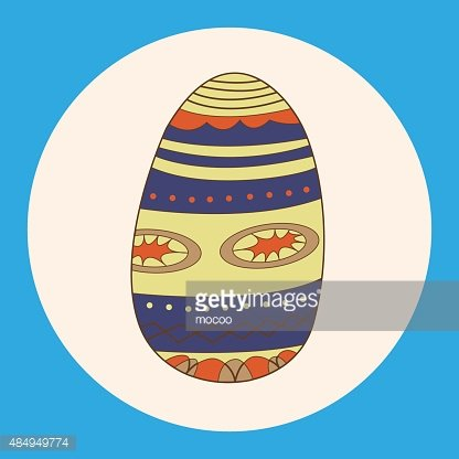 Symbol,Easter,Blue,Multi Colored,Pattern,Cultures,Season,Greeting,Decoration,Illustration,Celebration,No People,Vector,2015