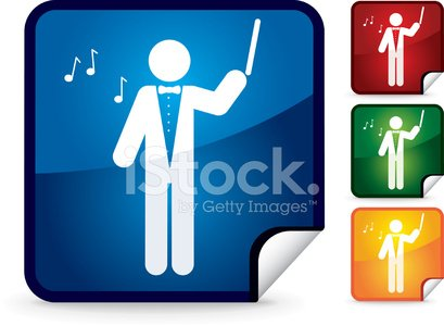 Musical Conductor,Composer,Computer Icon,Icon Set,Ilustration,Interface Icons,Job - Religious Figure,Illustrations And Vector Art,People,Vector Icons,Isolated On White,Vector,Series,Shiny,Occupation