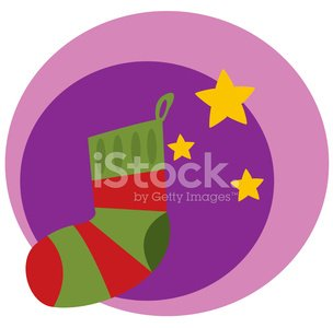Christmas Stocking,Sock,Christmas,Cartoon,Winter,Heat - Temperature,Wool,Holiday,Ilustration,Celebration,New Year's,Woven,Holidays And Celebrations,December,Vector,Gift,Christmas,Vector Cartoons,Illustrations And Vector Art,Event,Cultures,Season,Striped