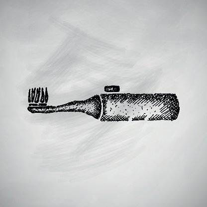 Close-up,Freshness,Hygiene,Line Art,Equipment,Blackboard,Dentist,Industry,Pencil,Healthcare And Medicine,Illustration,Image,Cleaning,Business Finance and Industry,Cocktail Stick,Cross Hatching,Electric Toothbrush,Toothpaste,Hatching,Backgrounds,Engraving,Vector,Drawing - Art Product,Toiletries,Massaging