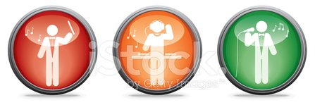 Musical Conductor,Club Dj,Icon Set,Symbol,Computer Icon,Singer,Occupation,Music,Series,Job - Religious Figure,Three Objects,Vector,People,Ilustration,Industry,Illustrations And Vector Art,Vector Icons,Retail/Service Industry,trilogy,Reflection,Performer,Shiny
