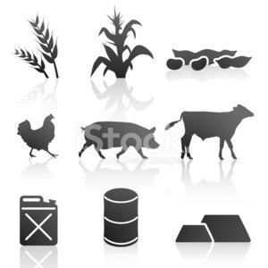 Wheat,Symbol,Chicken - Bird,Cow,Pig,Soybean,Computer Icon,Corn,Beef,Religious Icon,Cereal Plant,Food,Pork,Whole Wheat,Vector,Oil,Icon Set,Vegetable,Gold,Metal Ore,Gas Can,Market,Oil Drum,Trading,Industry,Ilustration,Domestic Cattle,Stock Exchange,Natural Gas,Gasoline,Silver - Metal,Copper,agriculutre,Platinum,Winter Wheat,raw materials,Commodity Market,Reflection,Vector Icons,Heating Oil,Unleaded Gas,Grain And Cereal Products,Food And Drink,Illustrations And Vector Art,Vector Ornaments