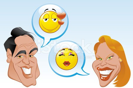 Emoticon,Human Face,Women,Couple,Internet,Human Head,Cartoon,Discussion,Heart Shape,Smiling,Men,People,Bonding,Heterosexual Couple,Smiley Face,Vector,Illustrations And Vector Art,People,Cheerful,Communication,Ilustration,Love