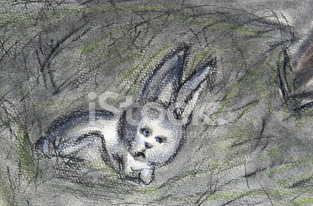 Rabbit - Animal,Depression - Sadness,Sadness,Painted Image,Art,Drawing - Art Product,Pencil Drawing,Childhood,Animals And Pets,Holidays And Celebrations,Baby Animals,Dark,Wild Animals,Easter,Baby Rabbit,Easter Bunny,Ilustration,Cute