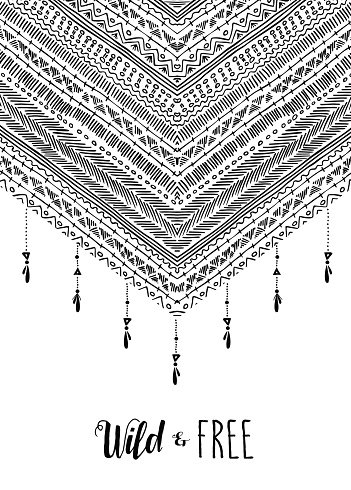 Fashion,Boho,Typescript,Calligraphy,Text,Design,Paint,Abstract,Striped,Geometry,Cultures,Shape,Retro Styled,Sketch,White,Geometric Shape,Zigzag,Monochrome,Black And White,Indigenous Culture,Decoration,Black Color,Vector,Quote,Freedom,Art