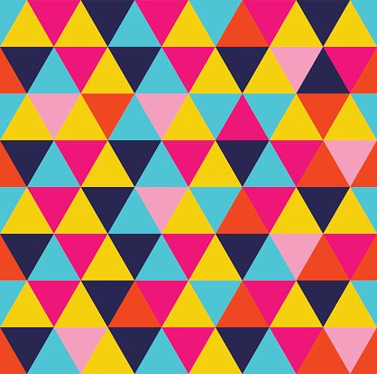 Abstract,Retro Styled,Concepts,Color Image,Concepts & Topics,Tile,Mosaic,Geometric Shape,Fashionable,Summer,Illustration,Shape,Fashion,Funky,Hipster - Person,Flat,Backdrop,Seamless Pattern,Backgrounds,Modern,Arts Culture and Entertainment,Fun,Vector,Geometry,Triangle Shape,Design,Vibrant Color,Multi Colored,Pattern,Colors,Textile