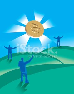 Currency,Praying,Savings,Finding,Business,Investment,Three People,Finance,Wealth,White Collar Worker,Illustrations And Vector Art,Concepts