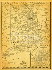 USA Maps and Illustrations I State of Rhode Island stock vectors ...