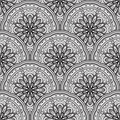 Abstract,No People,Indian Culture,Tile,Mosaic,Painted Image,Geometric Shape,Wallpaper,Carpet - Decor,Indigenous Culture,Contour Drawing,Stencil,Illustration,Iranian Culture,Wrapping Paper,Plate,Persian Culture,Rug,Cultures,Turkish Culture,Seamless Pattern,Circle,Embroidery,Mandala,Decoration,Backgrounds,East Asian Culture,Arabic Style,Print,Vector,Woven,Linen,Shawl,Lace - Textile,Pattern,White Color,Textile,Black Color