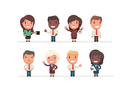 Men,People,Illustration,Businessman,Vector,Cartoon,Concepts,Manager,Characters,Business,Office,Males,Job - Religious Figure,Ideas,Teamwork,Women,Isolated,Set,Occupation,Professional Occupation,Suit