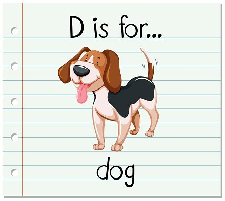 flashcard letter d is for dog stock vectors 365psd com spelling clip art free black and white spelling bee clip art