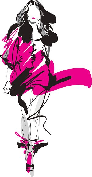 Adult,Young Adult,hand drawing,Freehand,Cool Attitude,Glamour,Females,Women,Computer Graphics,Girls,Sketch,Painted Image,Fashionable,Contour Drawing,Illustration,People,Ink,Fashion Model,Stationary,Fashion,Outline,Computer Graphic,Mannequin,Podium,Modern,Arts Culture and Entertainment,Vector,Walking,Skirt,Clothing