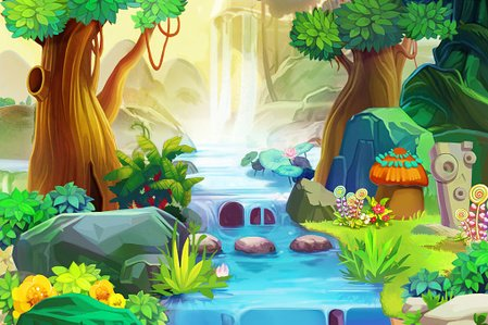 Multi Colored,Waterfall,Nature,Plant,Forest,Colors,Pencil Drawing,Light - Natural Phenomenon,Painted Image,Woodland,Animals In The Wild,Stream,Mountain,River,Tree,Pond,Tropical Rainforest,Urban Scene,Dandelion,Illustration,Drawing - Art Product,Summer,Grass,Wallpaper Pattern,Island,Color Image,Stone - Object,Cartoon,Flower,Uncultivated,Beauty In Nature,Art,Non-Urban Scene,Valley