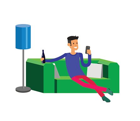 Men,Illustration,Backgrounds,Boys,Vector,Listening,Relaxation,Holding,Resting,Sofa,People,Carefree,Sleeping,Animal,Furniture,Feline,Comfortable,Computer Graphic,Lifestyles,Pets,Adult