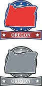 Oregon,state,Flag,USA,Sign,Map,Award,Symbol,Medallion,Insignia,Vector,Medal,Illustrations And Vector Art,Coat Of Arms,Striped,Star Shape,Unity