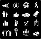 Charity and Relief Work,Symbol,Computer Icon,Handshake,Human Hand,Icon Set,Fundraiser,Thumbs Up,Megaphone,Globe - Man Made Object,Stick Figure,Agreement,Dollar,Contract,Clipboard,Hand Raised,Ribbon,Stop Sign,Thermometer,Coin,Planet - Space,Black And White,Sphere,Stop Gesture,Palm,Speaker,Check Mark,Arms Raised,Money Bag,Dollar Sign,Arms Outstretched,Bar Graph