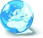 Globe - Man Made Object,Europe,Earth,Planet - Space,Map,Sphere,World Map,Blue,Cartography,Africa,Vector Backgrounds,Vector Icons,Travel Backgrounds,Illustrations And Vector Art,blue marble,Travel Locations