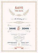 Vertical,Elegance,Love,Wedding,Ornate,Template,Illustration,Greeting,Inviting,Invitation,Decoration,Backgrounds,Vector,Label,Pink Color