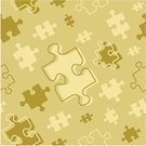 Jigsaw Piece,Puzzle,Jigsaw Puzzle,Vector,Backgrounds,Part Of,Seamless,Computer Graphic,Pattern,Repetition,Abstract,repeatable,Brown,Illustrations And Vector Art,Arts And Entertainment,Wallpaper Pattern,Concepts And Ideas,Variation,Ilustration,Gold Colored,Beige,Shape