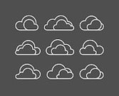 Horizontal,Concepts,Silhouette,No People,Concepts & Topics,Cloudscape,Computer Software,Overcast,Illustration,Climate,Shape,Business Finance and Industry,Mobile App,Internet,Network Server,Business,Vector