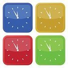 Abstract,Square,Time,Urgency,Shadow,Internet,Information Medium,Second Hand,Icon Set,Button,Wall Clock,Pushing,Computer Icon,Alarm Clock,Computer Graphic,Group Of Objects,Clock,Data,Shiny,Computer Graphics,Symbol,Illustration,Design,Square Shape,Clock Face,Minute Hand,Small,Yellow,Blue,Pattern,Red,White Color,Green Color
