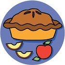 Pie,Symbol,American Culture,Vector,Apple - Fruit,Religious Icon,Dinner,Computer Icon,Food,Holiday,Indigenous Culture,Traditional Festival,Dessert,Pastry Crust,Autumn,Ilustration,Sweet Food,Table,Travel Locations,Time,Cultures,Concepts And Ideas,Cut Out,Meal,Gourmet,Single Object,Celebration,Abundance