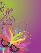 Costume,Mardi Gras,Mask,Masquerade Mask,Party - Social Event,Invitation,Feather,Star Shape,Backgrounds,Halloween,Stage Costume,Theatrical Performance,New Orleans,Disguise,Vector,Purple,Ilustration,Gold Colored,Green Color,Copy Space,Scroll Shape,Ornate,Masquerade Ball,Black Color,Illustrations And Vector Art,Holidays And Celebrations,venetian mask,Vector Backgrounds,Halloween,Holiday Backgrounds,Blank