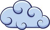 Cloud Network,Cloud Icon,Horizontal,Simplicity,No People,Sign,Overcast,Illustration,Climate,Straight,Computer Icon,Symbol,Cloud Computing,Weather,Clip Art,Environment,Curve,Vector,Shiny,Blue